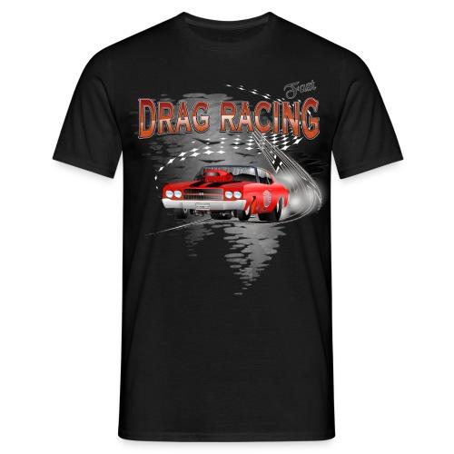 Dragster T-shirt mit Chevy Chevelle - Männer T-Shirt