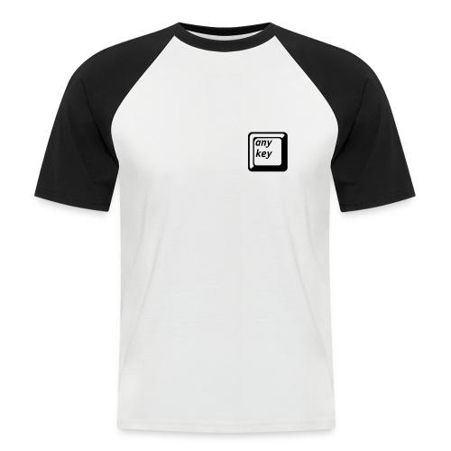 Any key - Men's Baseball T-Shirt