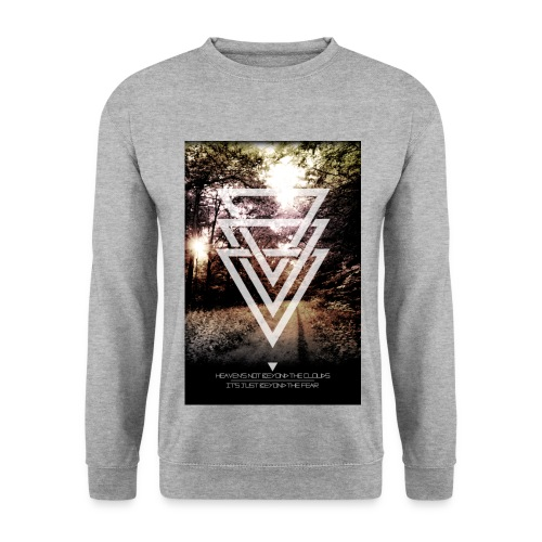 driehoek sweater - Mannen sweater