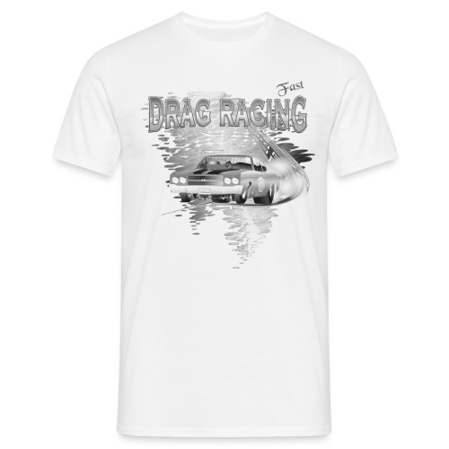Drag Racing T-shirt - Männer T-Shirt