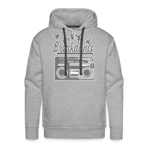 Bluza męska Premium z kapturem - Bluza,breakdance,chłopak,moda,muzyka,męska,naduk,odzież,sport,styl,taniec,ubiór