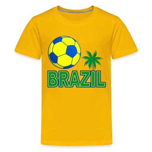 Brazil - Brésil sport - Teenage Premium T-Shirt