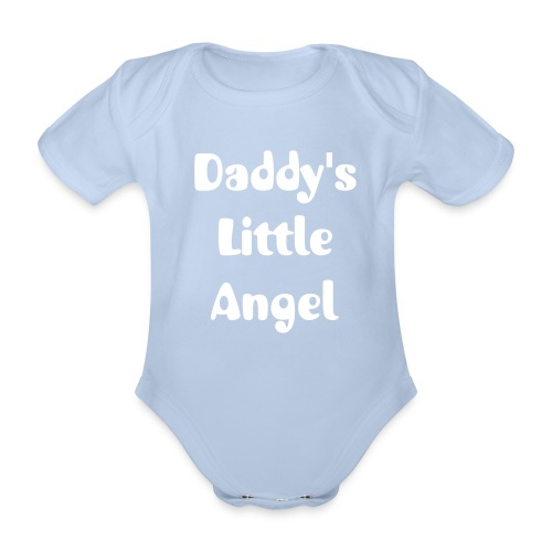 Daddy's Litlle Angel - Baby Grow - Organic Short-sleeved Baby Bodysuit