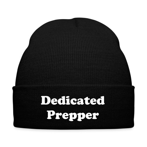 Dedicated Prepper hat - Winter Hat