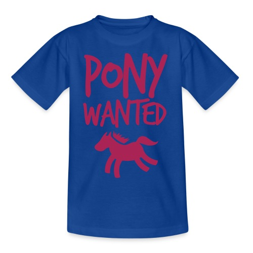 Pony wanted tshirt - Kids' T-Shirt