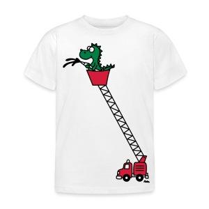 Feuerwehr Drache - Kinder T-Shirt