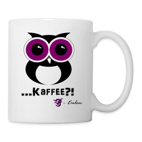 Eulen-Kaffee-Tasse - Tasse