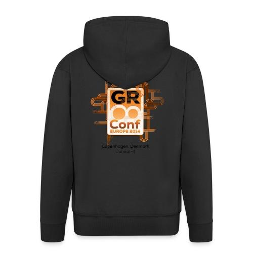 GR8Conf 2014 Hoodie - Men's Premium Hooded Jacket