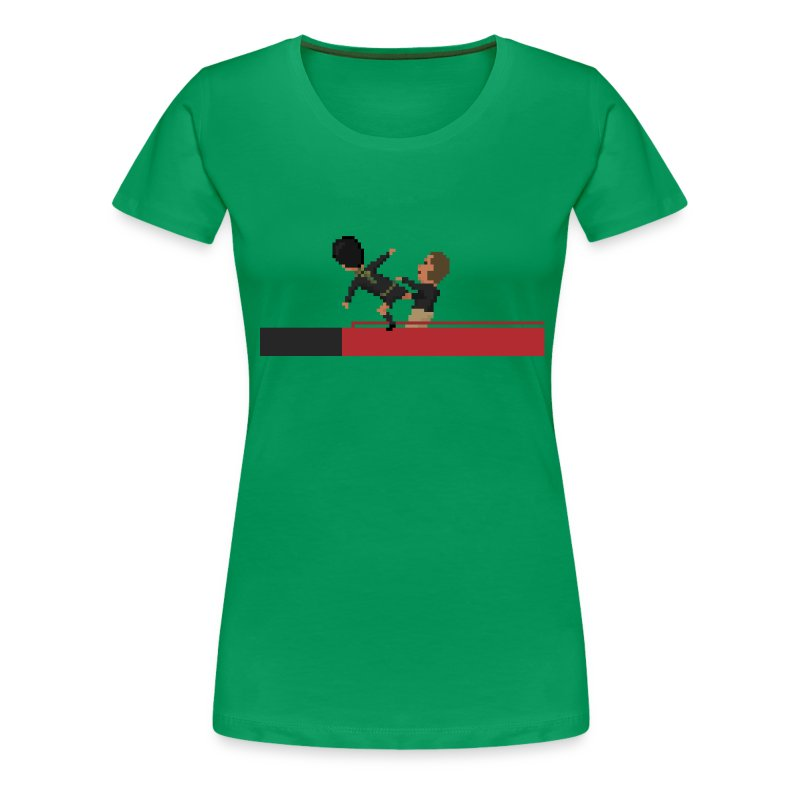 Women T-Shirt - Kung fu Kick - Women's Premium T-Shirt