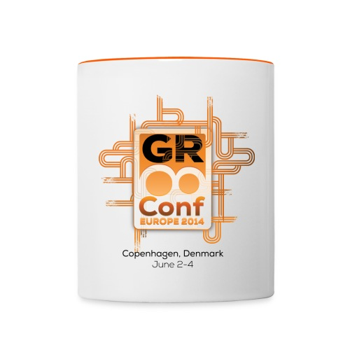 GR8Conf Europe 2014 MUG - Contrasting Mug
