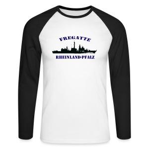 Fregatte Rheinland-Pfalz F209  BaseballShirt-Lang - Männer Baseballshirt langarm