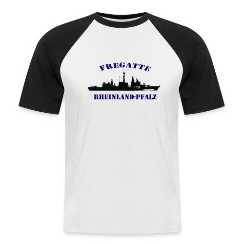 Fregatte Rheinland-Pfalz F209  BaseballShirt-kurz - Männer Baseball-T-Shirt