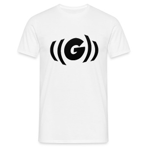 GPP Logo - Wit - Mannen T-shirt