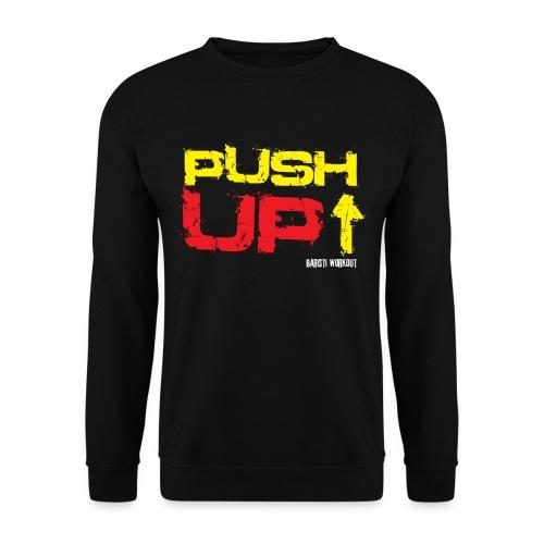 Push-Up Sweatshirt schwarz Männer - Männer Pullover