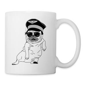 Pug Pilot - Mug