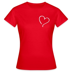 Every Girl has a heart. - Women's T-Shirt
