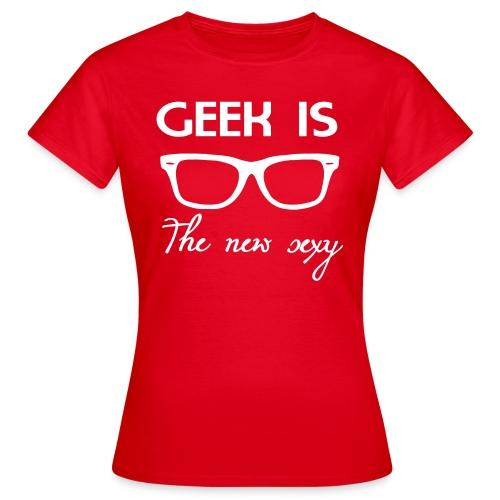 Geek = Sexy - Women's T-Shirt