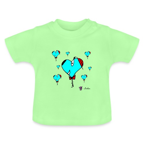 Hunde-Herzen Babyshirt - Baby T-Shirt