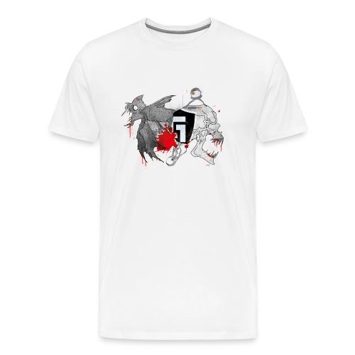 Underground Creatures T-Shirt Male - Men's Premium T-Shirt