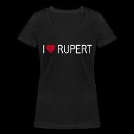 T-Shirts ~ Frauen T-Shirt mit V-Ausschnitt ~ I-love-Rupert-Shirt (V-Neck)