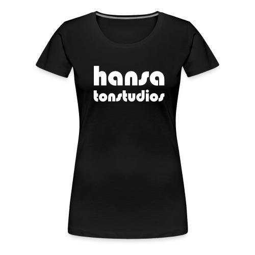 Hansa Studios T-Shirt Girl black - Frauen Premium T-Shirt
