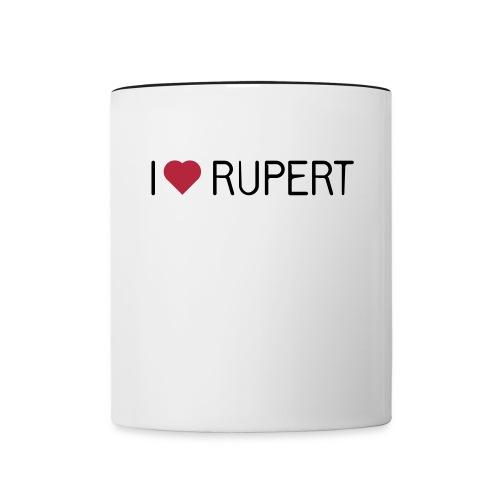 Killer-/Rupert-Tasse - Tasse zweifarbig