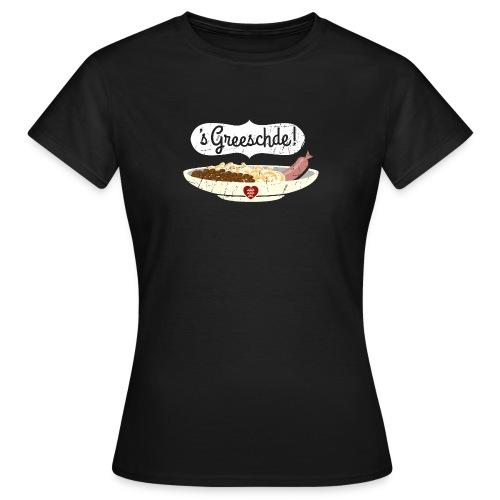 Linsen - Spätzle - Saiten - Mädle - Frauen T-Shirt