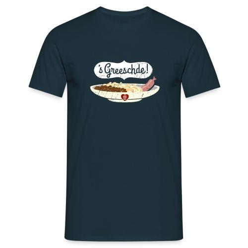 Linsen - Spätzle - Saiten - Kerle - Männer T-Shirt