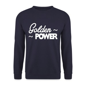 GoldenPower Trui - Wit - Mannen sweater