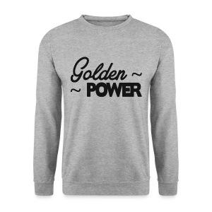 GoldenPower Trui - Zwart - Mannen sweater