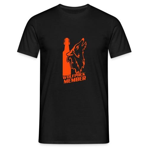 wolfpack member - Männer T-Shirt