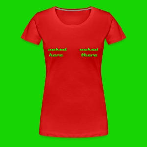 nakeds women - Frauen Premium T-Shirt