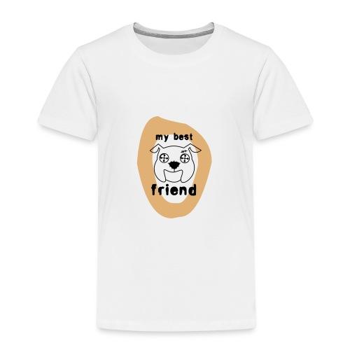 my best friend - Kinder Premium T-Shirt