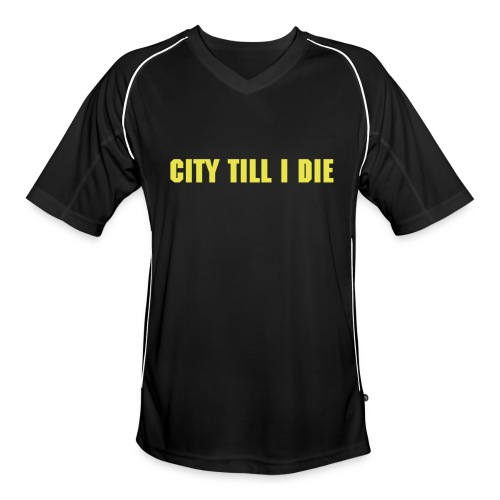 Mens Football Jersey Black - Men's Football Jersey