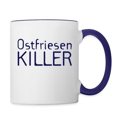 Ostfriesenkiller-Tasse - Tasse zweifarbig