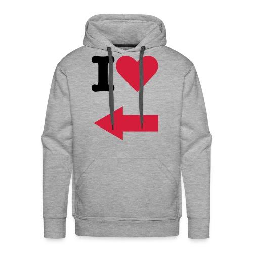 I Love You Trui - Mannen Premium hoodie