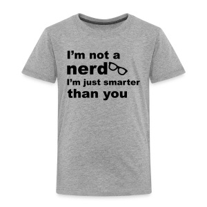 Nerdy Kid's T-Shirt - Kids' Premium T-Shirt