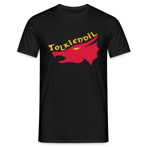 Dragon Tolkiendil Rouge Jaune  - T-shirt Homme
