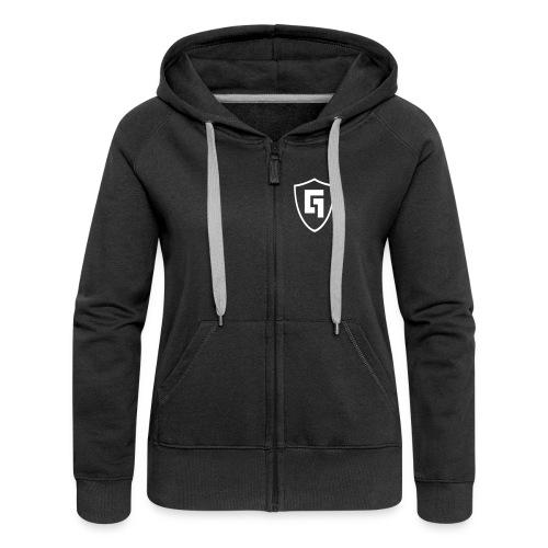 Gabber.FM Jacket - Women's Premium Hooded Jacket