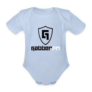 Gabber.FM One Piece - Organic Short-sleeved Baby Bodysuit