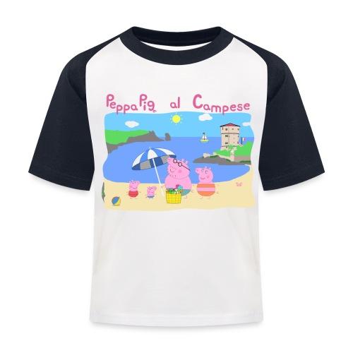 Maglietta da baseball per bambini