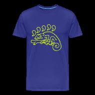 T-shirts ~ Mannen Premium T-shirt ~ Komma Kameleon! (Karma kameleon T-shirt)