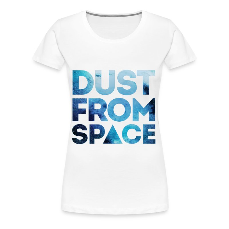 dust from space HIPSTER MOUSTACHE GEEK SWAG STYLE - Frauen Premium T-Shirt