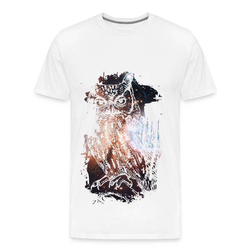 Cosmic Eule - Männer Premium T-Shirt