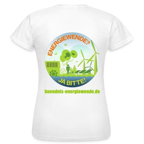 ENERGIEWENDE? JA BITTE!  - Frauen T-Shirt