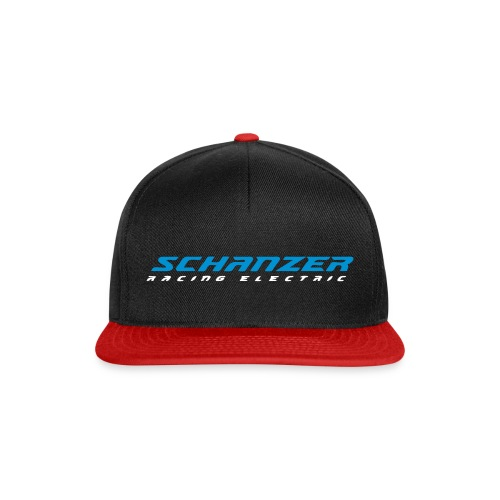 SRE-Snapback schwarz/rot - Snapback Cap