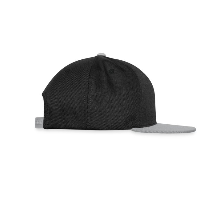 SRE-Snapback schwarz/grau