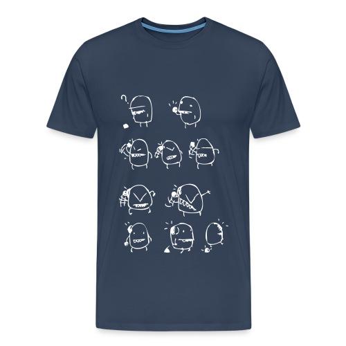 Krawall - Männer Premium T-Shirt
