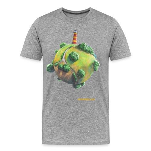 Leuchtturmus - Männer Premium T-Shirt