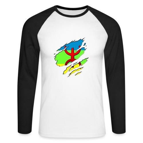 Amazigh. - Mannen baseballshirt lange mouw